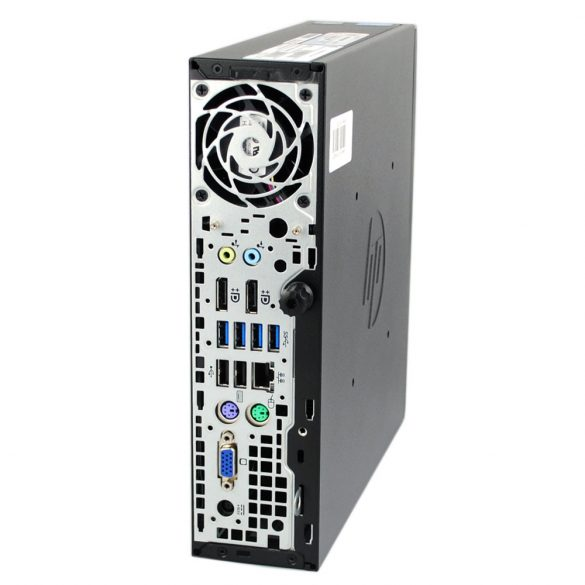 HP Elite 8300 USDT, Intel Core i5-3470s 2.90GHz (4 Core, up to 3.60GHz), 4GB DDR3 RAM, 120GB SSD, Intel® HD Graphics 2500, DVD-ROM, Sound, LAN, Power Supply 135W External, Windows 7 Pro LIC.