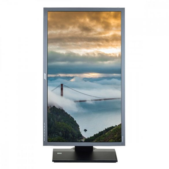 Acer B243HL, 24 inch LED, 1920 x 1080 Full HD, 16:9, negru - argintiu, monitor refurbished